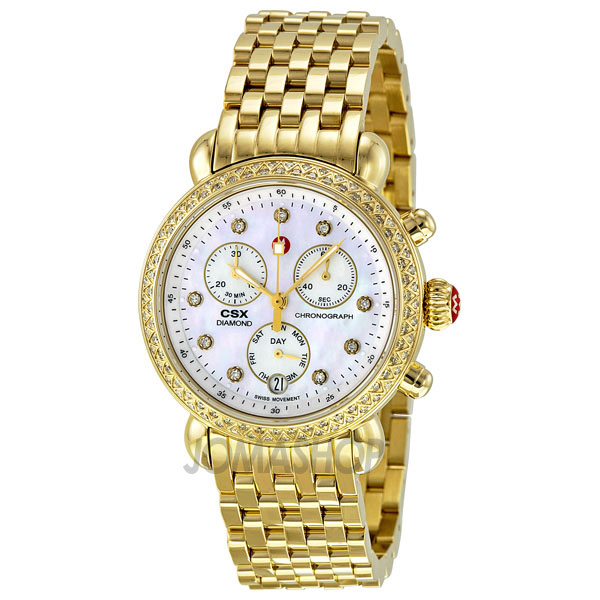 michele csx 36 day gold plated