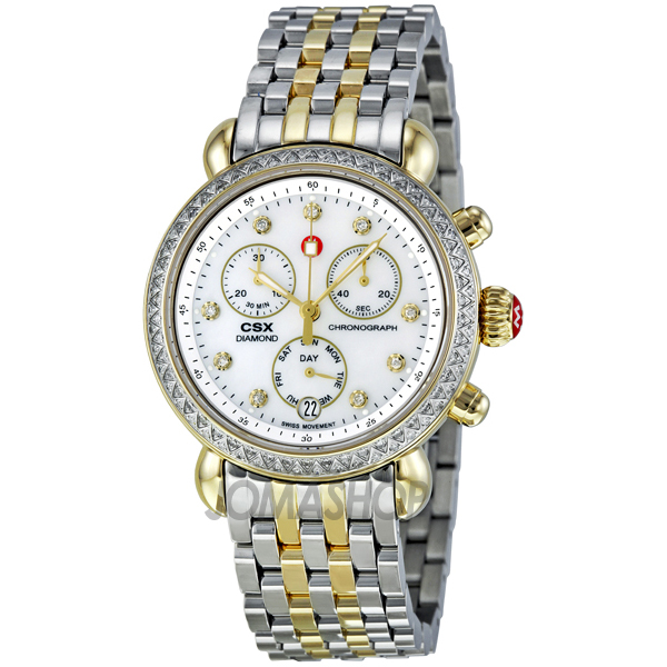 michele csx 36 of pearl two tone