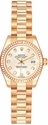 Rolex Datejust 18k Rose Gold Ladies Watch 179175RDP