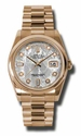 Rolex Day-Date Meteorite Dial Automatic 18kt Rose Gold President Mens Watch 118205MTDP
