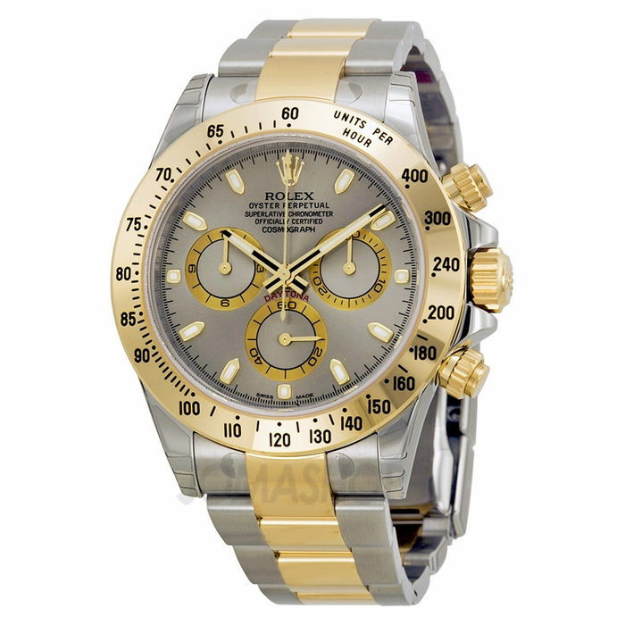 Gold Mens Watch 116523GYSO Rolex Shop Watches By Brand Jomashop