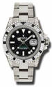 Rolex GMT Master II Black Automatic 18kt White Gold Oyster Mens Watch 116759BKSABK