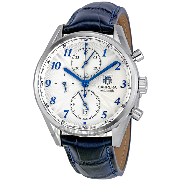 Expensive Mens Watches: Tag Heuer Leather