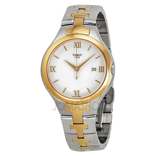 Tissot 'T12' Two-tone Stainless Steel Ladies Watch T0822102203800-奢品汇 | 海淘手表 | 腕表资讯