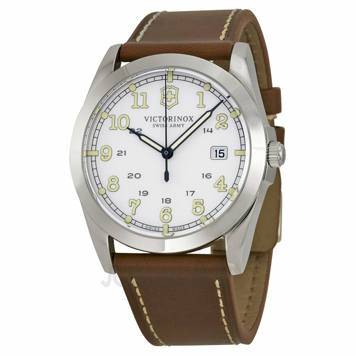 Victorinox Swiss Army Infantry White Dial Mens Watch 241564 on PopScreen 22509abc6d