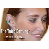 3rd Earring Genuine Swarovski Crystals