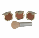 Sedona Travel Blusher Trio     With Bonus Blush Brush<p></p>