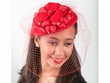 5689P - Felt Fascinator w/Hair Clip / Elastic
