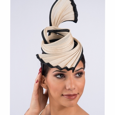 5755H - Buntal Straw Headband Fascinator