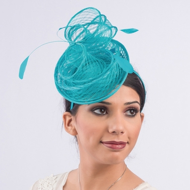 5761H - Sinamay Headband Fascinator