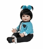 "Adora Dolls <br />20"" Name Your Own Baby Aqua Heart Doll"
