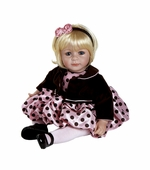 "Adora Dolls <br />20"" Name Your Own Baby Pink Posh Doll"