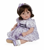 "Adora Dolls <br />20"" Name Your Own Baby Violet and Velvet Doll"