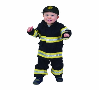 Aeromax<br />Baby Fire Fighter Suit, Black