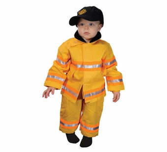 Aeromax<br />Baby Fire Fighter Suit, Yellow