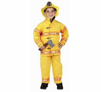 Aeromax<br />Fire Fighter Suit, Yellow