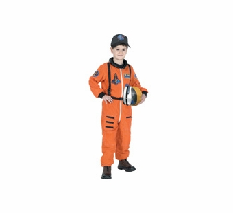 Aeromax <br />Jr. Astronaut Costume (Orange)