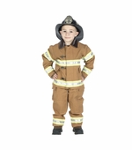 Aeromax <br />Jr. Fireman Costume (Tan)