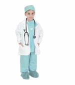 Aeromax <br />Jr. Physician Green Costume
