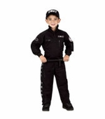 Aeromax <br />Jr. SWAT with Cap Costume