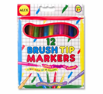 Alex Toys <br />Brush Tip Markers