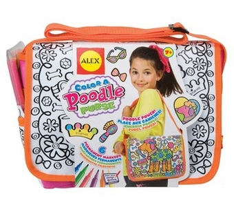 Alex Toys <br />Color a Poodle Purse Art Kit