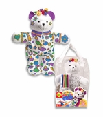Alex Toys <br />Color & Cuddle Washable Bear Art Kit