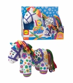Alex Toys <br />Color & Cuddle Washable Pony Art Kit