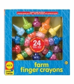 Alex Toys <br />Farm Finger Crayons