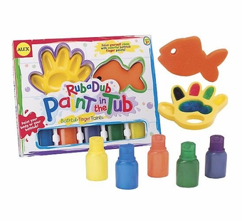 Alex Toys <br />Finger Paint in the Bath