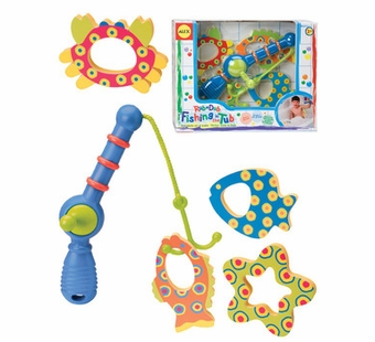 Alex Toys <br />Fishing in the Tub Bath Game Bath Toy