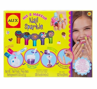 Alex Toys <br />Mix & Make-Up Nail Sparkle Kit