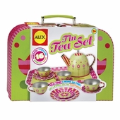 Alex Toys <br />Tea Set in Tin