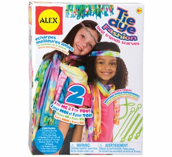 Alex Toys <br />Tie Dye Fashion Scarves Kit