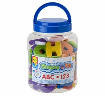 Alex Toys <br />Tub Shapes ABC/123