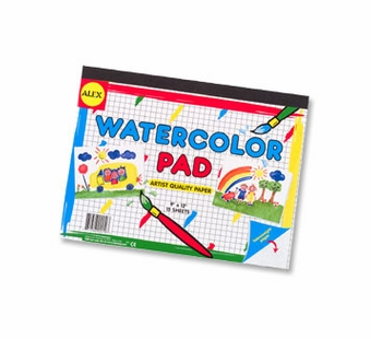 Alex Toys <br />Watercolor Paper Art Pad