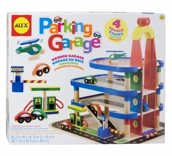 Alex Toys <br />Wood Parking Garage