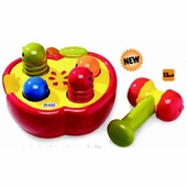 Ambi Toys <br />Pounding Apple Baby Toy