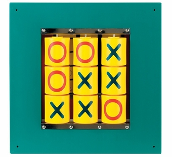 Anatex <br />Busy Cube - Tic-Tac-Toe Wall Panel