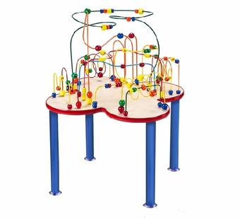 Anatex <br />Fleur Rollercoaster Table (metal legs)