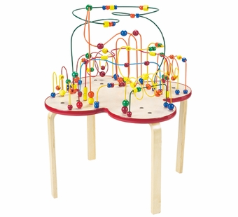 Anatex <br />Flower Rollercoaster Table