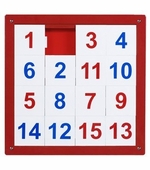 Anatex <br />Number Puzzle Panel 1-15