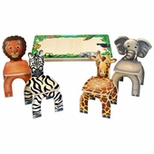 Anatex <br />Safari Table & Animal Chairs