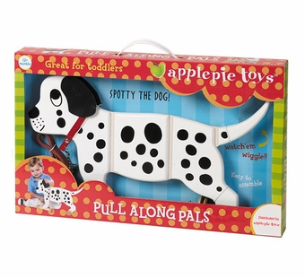 Applepie Toys <br />Spotty the Dog Pull Toy