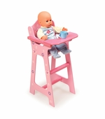 Badger Basket <Br />Blossoms and Butterflies Collection Doll High Chair