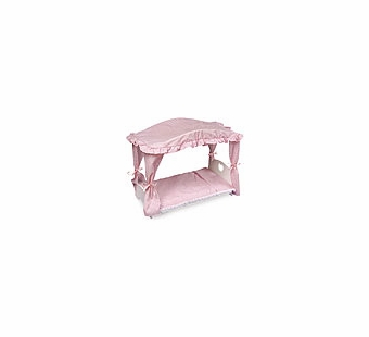 Badger Basket Doll Furniture <br />Canopy Doll Bed with Bedding