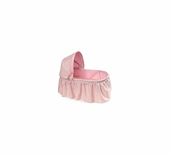 Badger Basket Doll Furniture <br />Folding Doll Cradle with Rosebud
