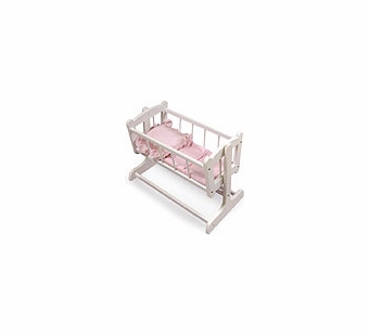 Badger Basket Doll Furniture <br />Heirloom Style Doll Cradle