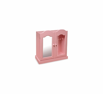 Badger Basket Doll Furniture <br />Pink Armoire