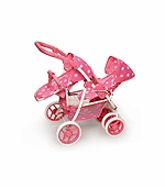 Badger Basket Doll Furniture <br />Reversible Stroller
